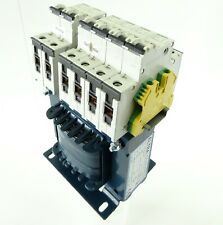 ELTRA NT 0,32-1-SA Trenn-Transformator Pri 400V Sec 230V 320VA + 5SY41 MCB C2 C4