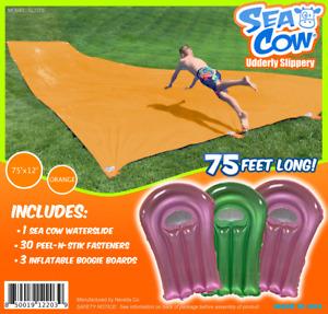 Sea Cow 75 x 12 WaterSlide - Giant Slip n Slide Backyard birthday Waterslide