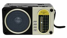 Portable Solar Radio with AM/FM/SW Bands and USB MP3 Player