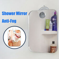 1x Top Anti Fog Fogless Shaving Shower Mirror Portable Travel No Fog Bathroom