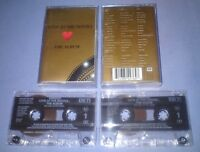 V/A LOVE AT THE MOVIES THE ALBUM Double cassette tape album