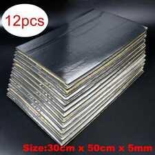 Anti-noise Black Car Sound Deadening Mat Sound Deadener Material insulation 12Ps
