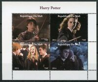 Mali 2014 MNH Harry Potter Hermione Granger Ron Weasley 4v M/S Movies Stamps