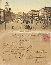 Tarjeta Postal. 47034. Madrid. Puerta del Sol.