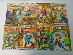 Bronze age Western comic lot 26 different avg 5.0 VG FN (Marvel)