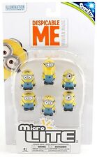 NEW SpotLite Despicable Me Minion Made MicroLite Keychain Light 6-Pack
