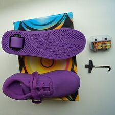 Heelys Kid's Launch Sneaker, Purple Solid, 3 M US Big Kid