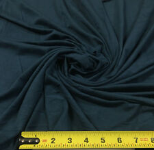 Bamboo Tencel Spandex Jersey Knit Fabric Ecofriendly HighEnd Fabric Teal  10 oz