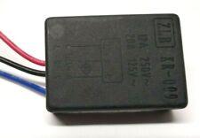 Maschinen Anlaufwiderstand 12A, 230 V Elektro Sanftanlauf Soft Start mit 3 Kabel