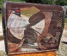 Vintage Sears Homart Cooler Window Box Fan 2 Spd Intake/Exhaust