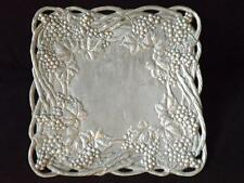 "Arthur Court Cast Aluminum 12"" Square Grapes Vines Leaves Tray Platter"