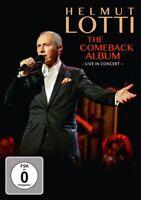 HELMUT LOTTI - THE COMEBACK ALBUM-LIVE IN CONCERT   DVD NEW+