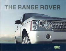 RANGE ROVER Sales Brochure 2007 MODEL YEAR #2352/06 SUPERCHARGED V8 TDV8 +