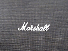 Marshall White Script Logo 9 (150mm) (DO NOT PURCHASE WITHOUT A MODEL OR SERIAL
