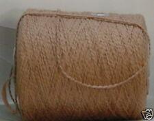 Pecan Organic Cotton Bulky 550 ypp Cone Yarn~3.1 - 3.35 lbs