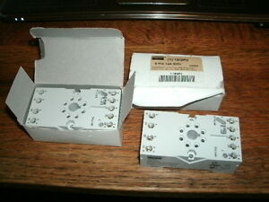2 Dayton 1EGP3 8-Pin Base 12a 300 V  New parts in box buying two