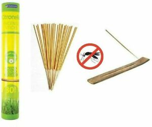 Citronella INCENSE STICKS Candles Outdoor Garden Anti Bug Fly Mosquito Insect