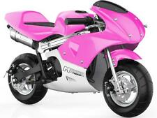 MotoTec Phantom Gas Pocket Bike 48.9cc 2-Stroke Pink Air Cooled EPA Approved 13+