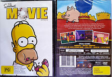 "THE SIMPSONS MOVIE DVD  ""REGION 4 PAL"" - BRAND NEW"
