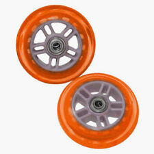Razor A Scooter Series Wheels w/Bearings (set of 2) - Orange 134932-OR NEW