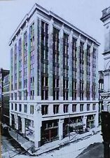 Jones, McDuffee and Straton Office Building, Boston, Magic Lantern Glass Slide