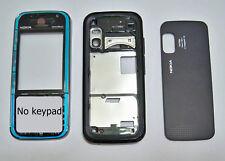 Blue Full Housing cover fascia facia faceplate case for Nokia 5730