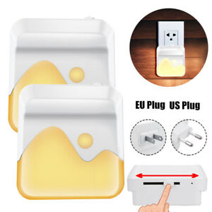 LED Night Light Plug In Dimmable Energy Saving Children Nursery Baby Safety 2021