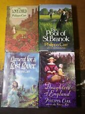 Lot of 4 Philippa Carr Books. The Love Child, Pool of St Branock, Daughters of..