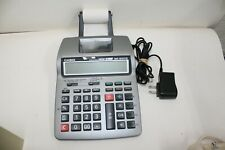 Casio HR-100TM Printing Calculator Tax & Exchange 12 Digits Used Tested