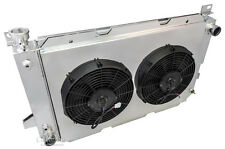 "1989 - 1996 Ford Bronco 3 Row DR Radiator ( V8 Engine ) 2 x 12"" Fan Shroud Combo"