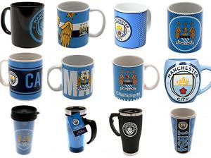 Manchester City FC Mug - Travel, Latte, Tea Tub, Tea, Coffee, Tankard, Heat