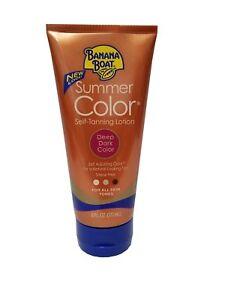 Banana Boat Dye-Free Summer Color Self-Tanning Lotion - Deep Dark - 6 fl oz