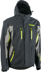 Fly Racing 2020 Snow Adult Incline Snowmobile Jacket Charcoal/Grey All Sizes