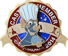 Disneyland Paris Pins Cast Member Exclusive Ratatouille