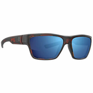 Magpul Pivot Eyewear Shooting Glasses Tortoise Frame Bronze Lens w/ Blue Mirror