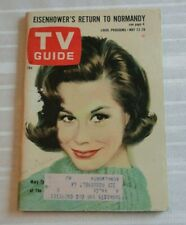 Vintage Magazine TV Guide 1964 Mary Tyler Moore Eisenhower's Return to Norm. 102