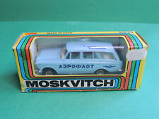 Moskvitch 427 voiture Lada 1200 Kombi VAZ 2102 russian blue car URSS/CCCP/USSR