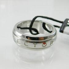 Sector anello uomo fascia bombata in acciaio Sector man ring Size Misura 23