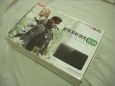 NINTENDO 3DS Japan Console METAL GEAR SOLID SNAKE EATER 3D Premium Package MGS