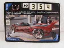 Hot Wheels Acceleracers Flathead Fury Trading Card VHTF