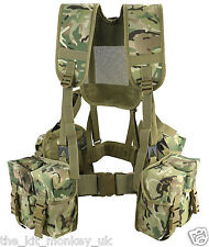 Kombat BTP 6 Piece PLCE Webbing Set British Army ideal Cadets like MTP /Multicam