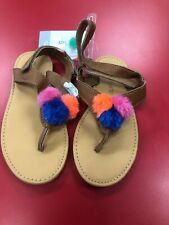 Toddler Girls Carters Sandals Size 12 NWT