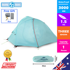 NEW 1 Person Tent Camping Hiking WATERPROOF Light Shelter Outdoor Backpacking x