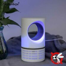 USB Electric Mosquito Insect Killer Trap Lamp LED Light Bug Zapper Pest Control