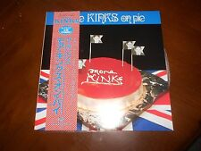 THE KINKS KINKS ON PIE VINYL LP IMPORT MONO INSERTS SP20-5042 OBI EXCELLENT