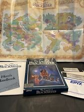 The Legend Of Blacksilver 1988 Apple II 128K BOXED FLOPPY DISC FANTASY GAME+MAP