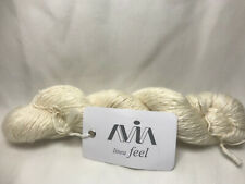AVIA Linea Feel Yarn 18% Linen 18% Silk 64% Merino  48gm/240mts Ercu Color 2 ply