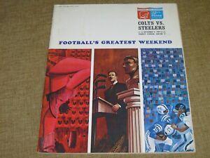 Original PRO FOOTBALL HALL OF FAME Canton Ohio 1964 Festival & Game Program 8