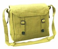 Brand New Vintage Style Canvas Shoulder Haversack Bag