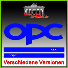 OPC Vauxhall Astra Corsa Side stripe Sticker ver. Versions and Colours 2m long